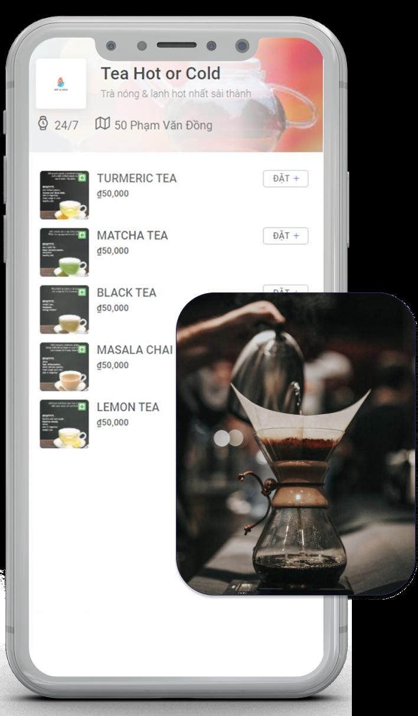 Cafe Trà Sữa